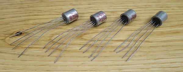 AC125  Germanium Transistor PNP  TO-1  PHILIPS