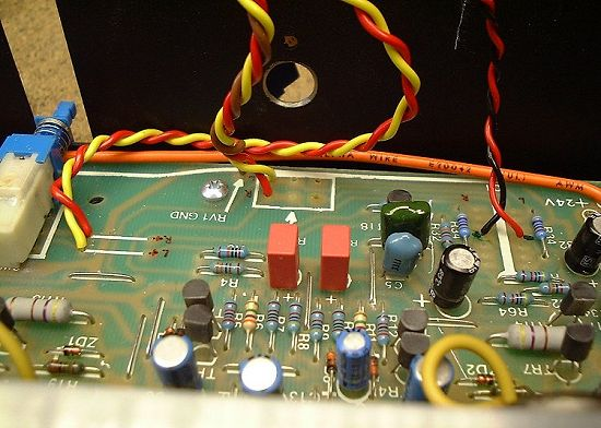 Musical Fidelity A1 › Modifications